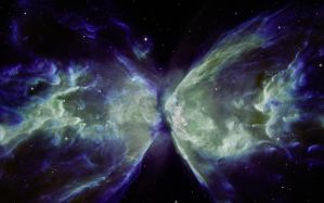 Butterfly Nebula 1440 x 900 by Resistance-Of-Faith