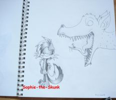 Look What I Found by Sophie-The-Skunk
