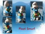 New Smurf on the block 'Plasti Smurf' by UncleGargy