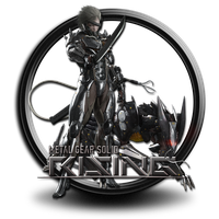 Metal gear rising revengeance icon by S7 by SidySeven