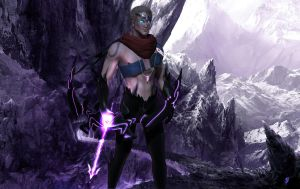 Varus the Arrow of Retribution, League of legends by DragonisAris