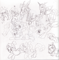 Doodles by Tenchi-Outsuno