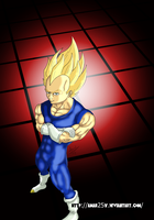 Super Vegeta by Amar25x