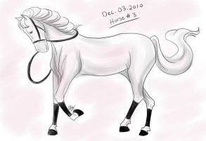 Horse a Day - Dec 03 by liliy