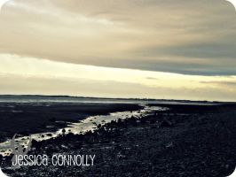 Cumbrian Beach early evening by JACPhotography