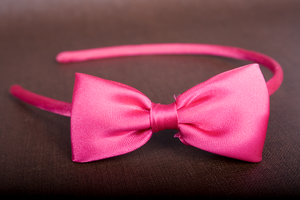 Pink Headband Bow by RandomResources