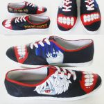 Tokyo Ghoul shoes by playgr0undeyes