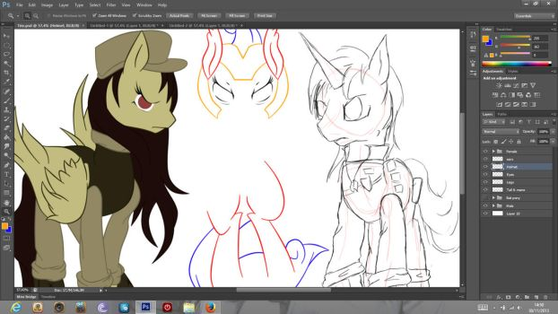 WIP 2 : Battle time by MimiPony