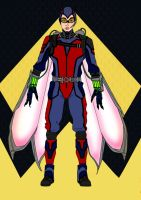 Ant Man~Wasp Redesign by Comicbookguy54321