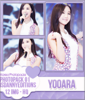 Yooara (Hello Venus) - PHOTOPACK#01 by JeffvinyTwilight