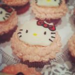 Hello Kitty Cupcakes by Cat-The-Rawr