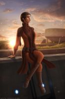 KOTOR - 'A Moment of Calm' by Mecha-Potato-Alex