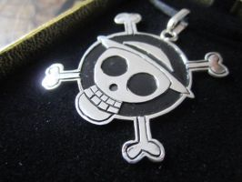 One Piece Pendant by Silverthink