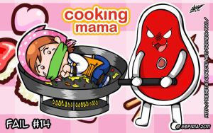 Cooking Mama by ClassicBoundageFan