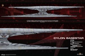 Cylon Baseship Poster by Galen82