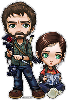 The Last of Us: Joel and Ellie by ghostfire