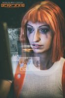 Leeloo cosplay by Nebulaluben