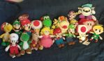 My Nintendo Plushies by MarioSimpson1