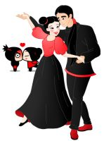 Disney style Romance: Pucca And Garu by Willemijn1991
