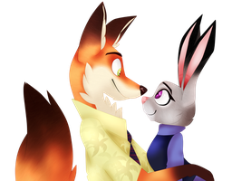 Zootopia. Nick/Judy. by floppytheshipper