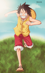 One Piece - I will be the Pirate King! by willofb