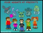 Five Nights at Freddy's 4: Victims by Mytokyokitty