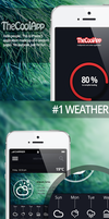 Music, Weather, Statistic, Settings iPhone Applica by BorisWick