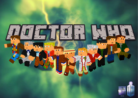 Doctor Who Minecraft Wallpaper by Captainpikachu
