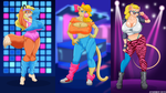 Mindy And The 80s Gals. by Atariboy2600
