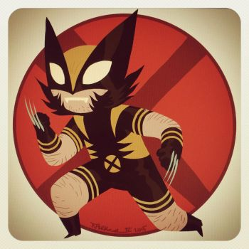Lunchtime Scribbling: Wolverine by tnperkins