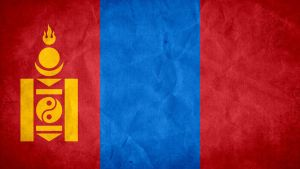 Mongolia Grunge Flag by SyNDiKaTa-NP