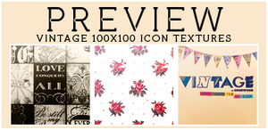 #7 Vintage {icon textures} by iheart-sj