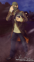 Aiden Pearce - Watch Dogs by JhonyHebert