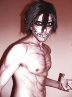 Titan Eren Make up (Shingeki no Kyojin) by IKaggi14
