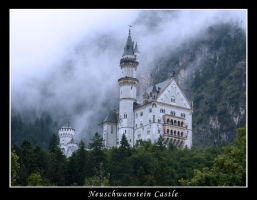 Neuschwanstein Castle I by LisyLunaria