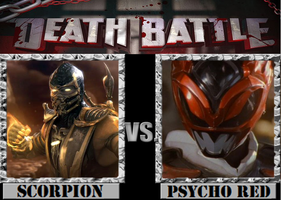 Scorpion VS. Psycho Red by Grimmjow-thesexta