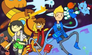 Bravest Warriors by Ionic-Isaac