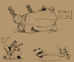 Slug Toad by Mr-Shin