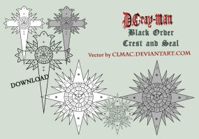 DMG Black Order Crest and Seal by CLMac