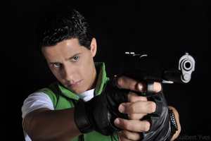 Chris Redfield S.T.A.R.S. - Photography Studio 1 by CHRIS-RICKFIELD