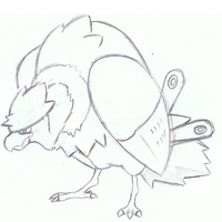 Contest Mascot Sketch by mssingno