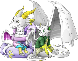 Commission: Family by Natsuakai