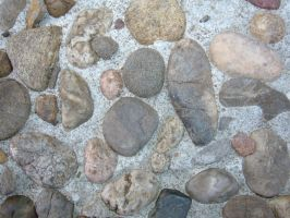 Pebble Wall Texture 01 by Lengels-Stock