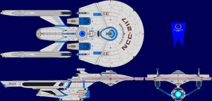 USS Starstalker Multi-View by captshade