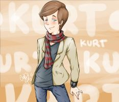 Glee: Kurt H. by Angels-Leaf
