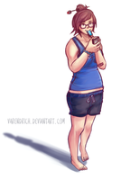 Overwatch | Casual Mei by Varendrich