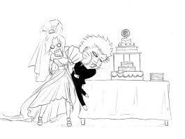 NaruSaku - Wedding Dispute by diriagoly