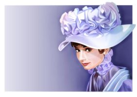 Audrey Hepburn by vectorsedge