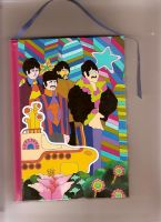 My beatles notebook by Holychaos3