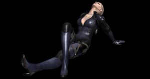 Jill Valentine Looking up Pose by nashdnash2007